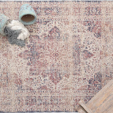 Χαλιά Μηχανοποίητα All Seasons Royal Carpet Palazzo 6533C Ivory-Blue