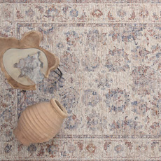 Χαλιά Μηχανοποίητα All Seasons Royal Carpet Palazzo 6547B Ivory-Beige
