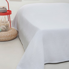 0c9ed354a41 Κουβέρτες Πικέ (Waffle) Melinen Patmos White