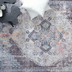 Χαλιά Μηχανοποίητα Royal Carpet Lumina Shrink 170A Grey-Cream