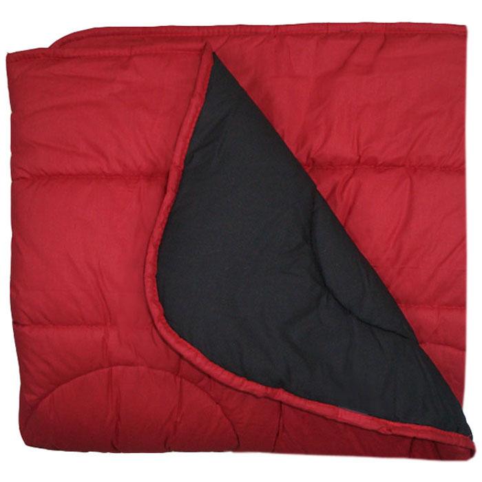 e02db8817b6 Πάπλωμα Βαμβακερό Ίριδα Διπλής Όψεως Κόκκινο - Μαύρο