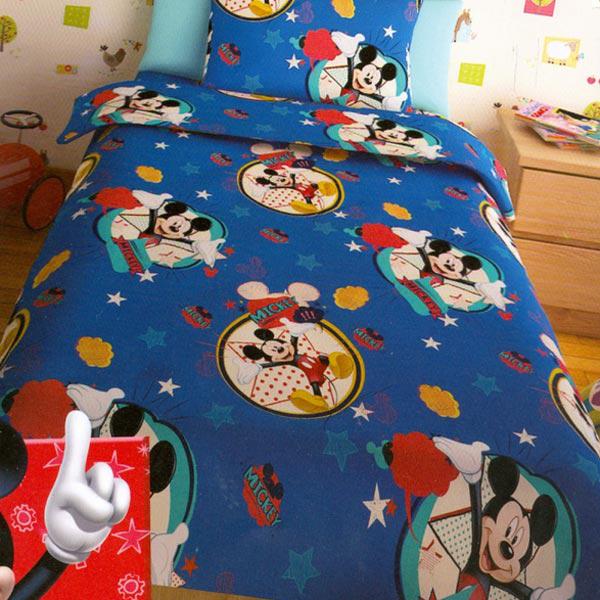 Σετ Σεντόνια για παιδιά Disney Αυθεντικά Mickey Μπλε 10056ebcc7b
